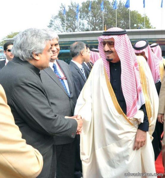 ولي العهد يغادر جمهورية الهند  متوجها إلى جزر المالديف