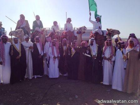 """بالفيديو والصور..""""قبيلة العوامرة"""" في قرية """"أبلة حائل"""" تحتفل بعيد الفطر المبارك"""