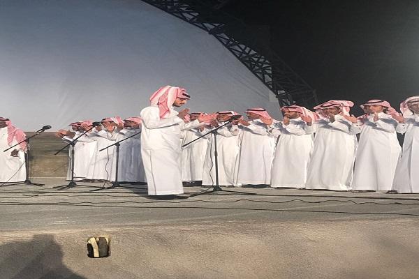 """""""صفوف السوطة"""" تقدم """"فن المحاورة"""" بمسابقة سوق عكاظ للفنون الشعبية للكبار"""
