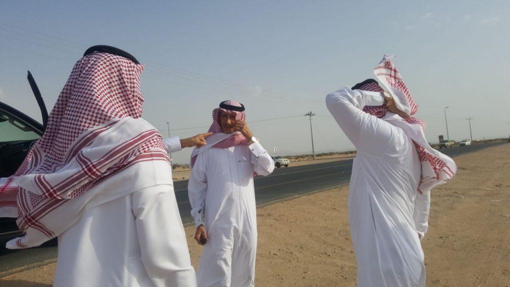 """""""أمين الطائف"""" ورئيس المجلس البلدي يقفا على مرمى النفايات السابق بـ""""كلاخ"""""""