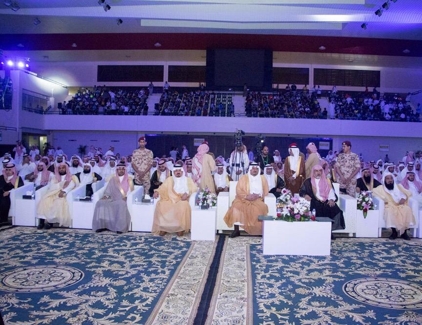 بالصور.. نائب أمير الرياض يرعى الحفل الختامي للأندية الصيفية بجامعة الإمام