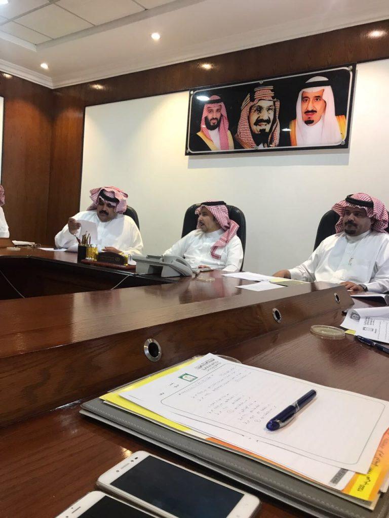 بلدية حفر الباطن تعقد إجتماعاً لمناقشة إستعدادات البلدية لموسم الأمطار