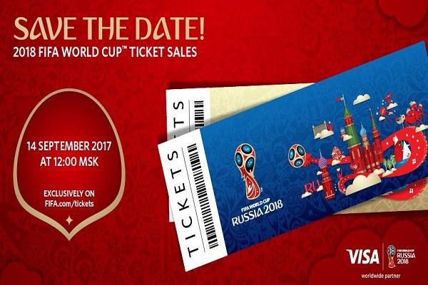 """""""فيفا"""" : انطلاق المرحلة الأولى لبيع تذاكر كأس العالم 2018"""