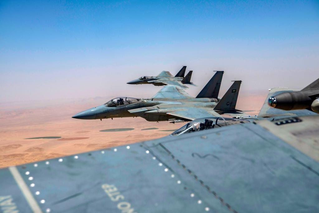 القوات الجوية الملكية السعودية : تستعد لبدء تنفيذ مناورات فيصل 11مع سلاح الجو المصري في مصر