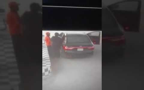 خطف عامل محطة وقود بواسطة شباب مجهولين