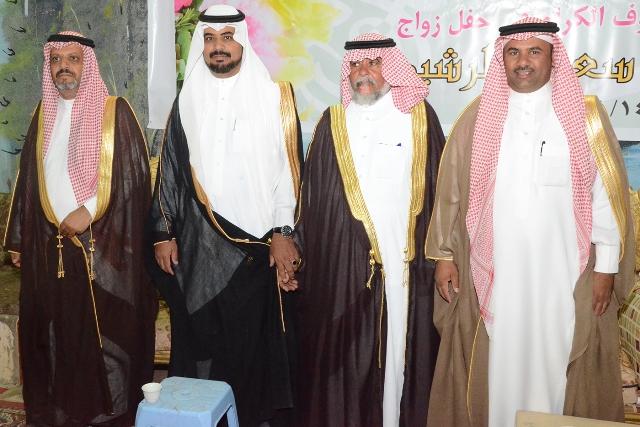 """بالفيديو والصور..الزميل الإعلامي سعد الشويلعي""""  يحتفل بزواجه"""