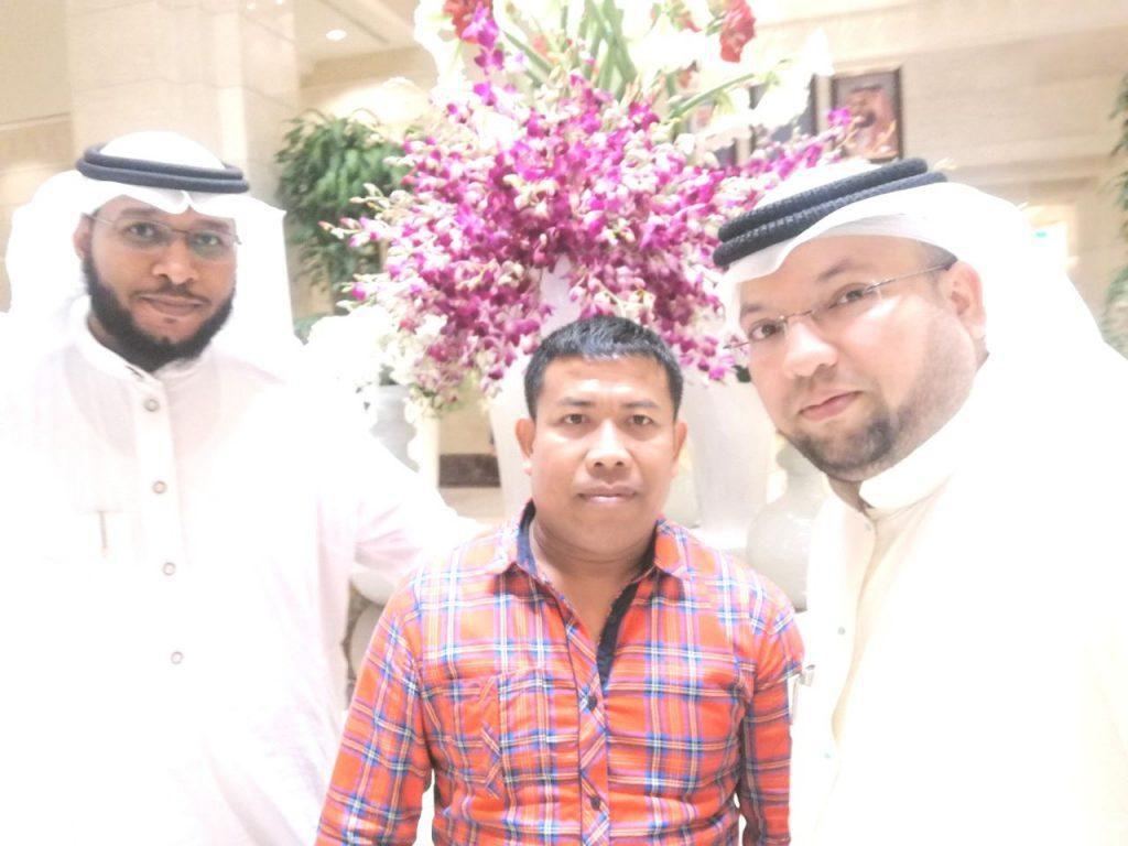"""البطل الفلبيني """"داوود بالندون"""" في إستضافة فندق ساعة مكة فيرمونت"""