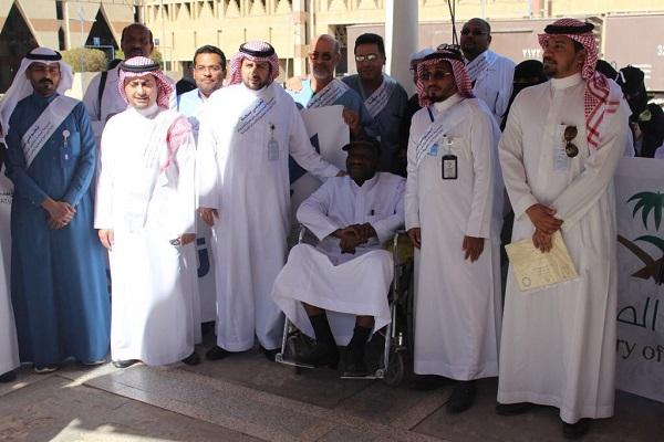 """""""مدير صحة الرياض"""" يدشن عدد من الفعاليات التطوعية في محطة قطار الرياض الدمام"""