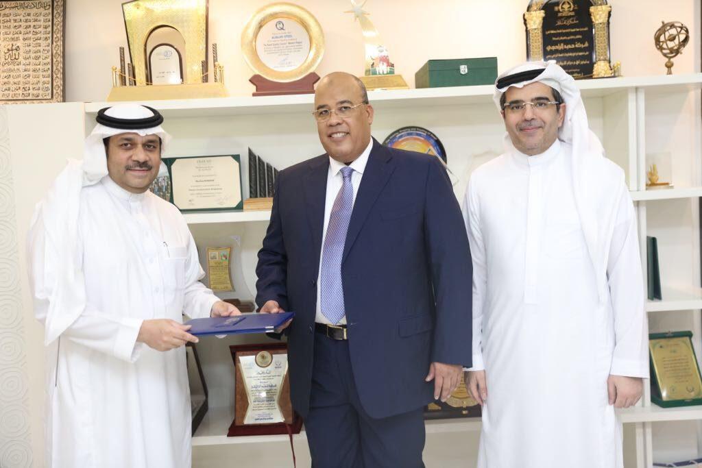 شركة حديد الراجحي توقع اتفاقيات لتصدير الحديد إلى جمهورية مصر