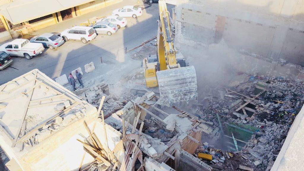 بلدية وسط الدمام : حصر 200 مبنى آيل للسقوط وإزالة 8