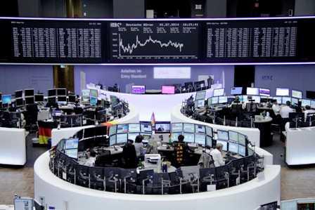 الأسهم الأوروبية تغلق تعاملاتها اليوم على ارتفاع