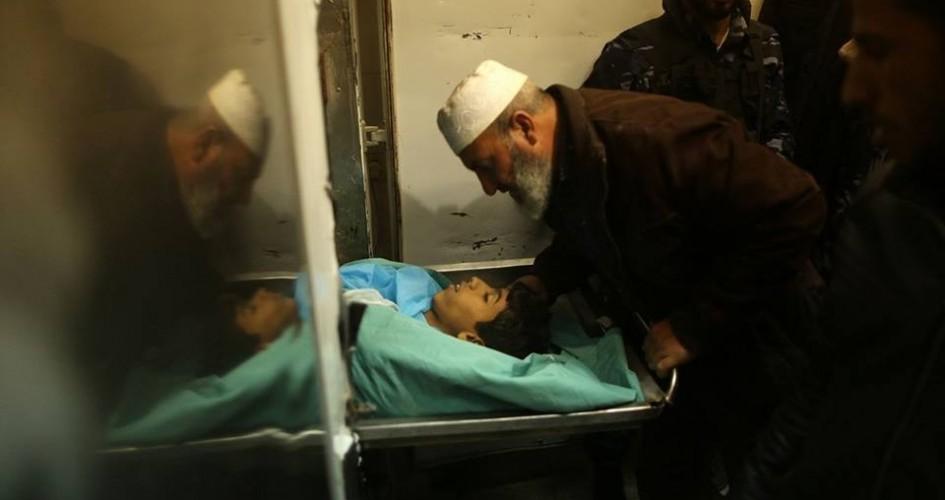 إستشهاد شاب برصاص الإحتلال الإسرائيلي وسط غزة
