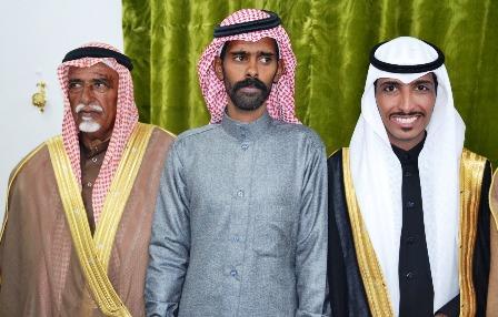 """والد الزميل """"الوهيداني"""" يحتفل بزواج ابنائه (ناجي وشايم)"""