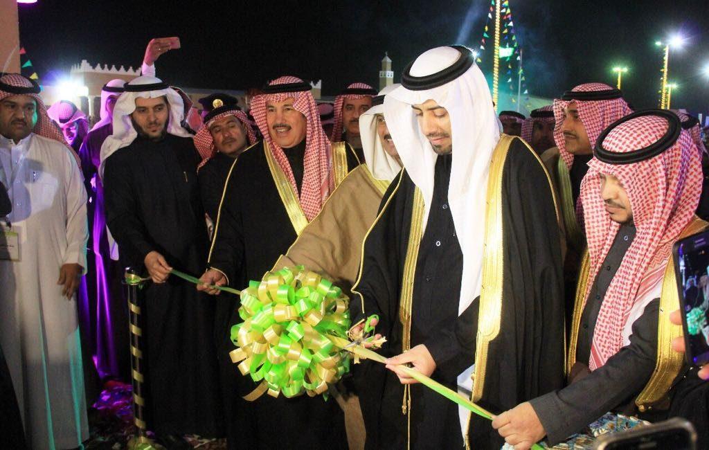 """إفتتاح القرية الشعبية وتدشين الفعاليات المصاحبة في """"ربيع النعيرية """""""