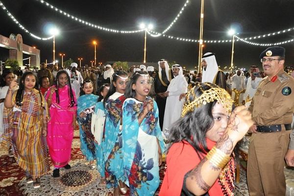 """إقامة أمسية ثقافية للجالية السودانية ضمن مهرجان """"محايل أدفأ"""""""