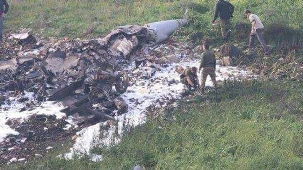 """""""الجيش الإسرائيلي"""" : احتمال إسقاط المقاتلة بنيران سورية"""