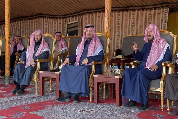 """الأمير """"فيصل بن خالد بن سلطان"""" يقيم مأدبة غداء تكريماً لمعالي الدكتور """"الشثري"""""""