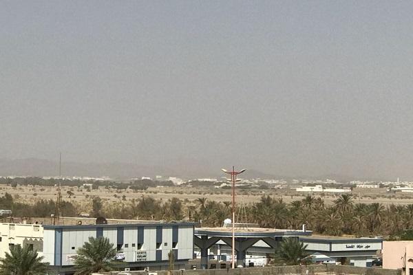 موجة غبارية تجتاح محافظة رنية