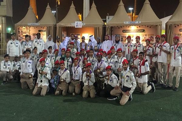 """""""كشافة وزارة التعليم"""" تُكرم المشاركين في الفترة الأولى بمهرجان الجنادرية"""