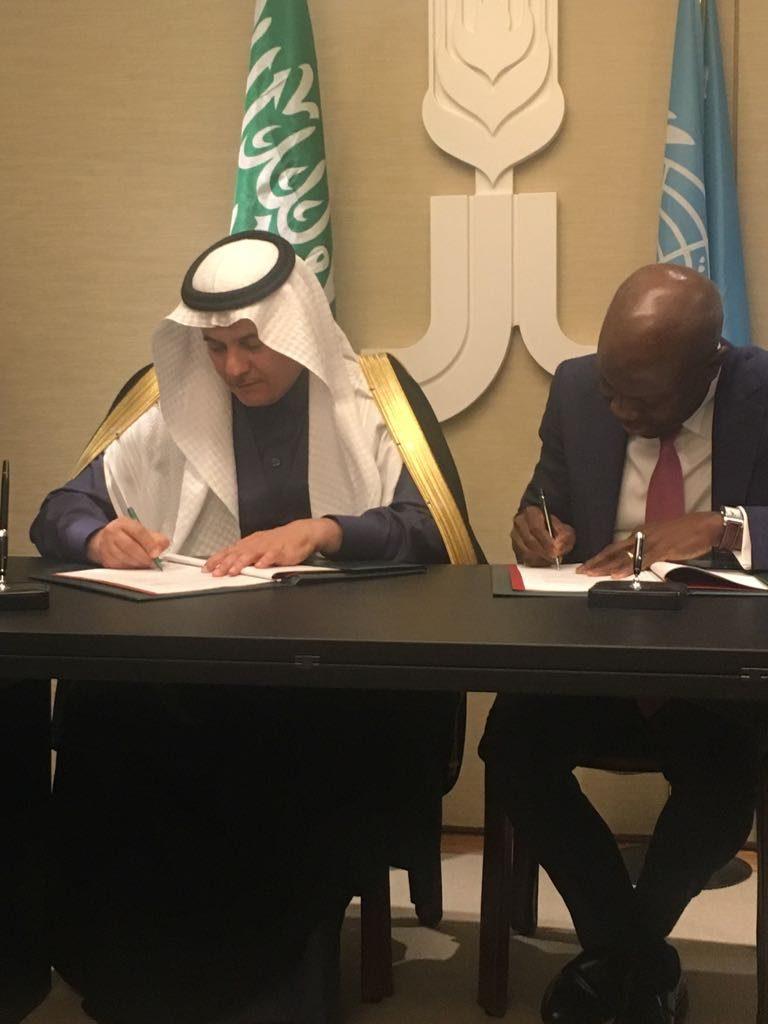 """""""الفضلي"""" يوقع عقد المساندة التقنية مع الصندوق الدولي للتنمية الزراعية"""