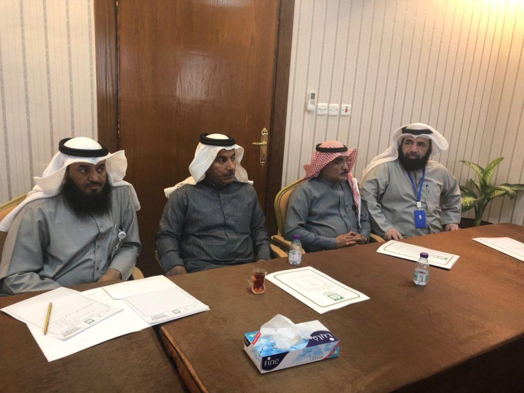 بلدية حفر الباطن تعقد اجتماعا لمناقشة خطة تصريف الأمطار