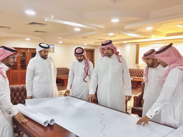 فريق سلامة الطرق يزور الباحة لدراسة النقاط السوداء