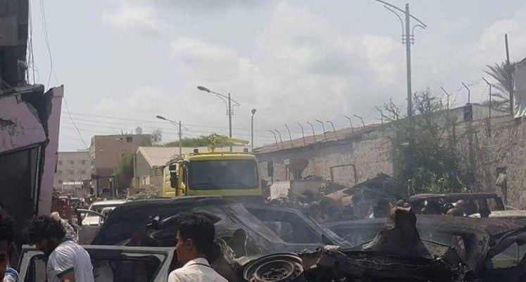 مقتل وإصابة 38 شخصا في هجوم انتحاري في عدن