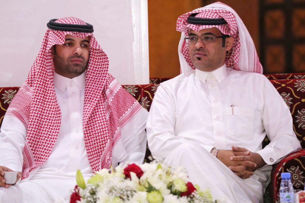 """البدر يحتفل بعقد قرآن شقيقه """"عبدالعزيز الوذناني"""" بالطائف"""