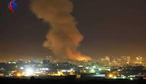 الغارات الأمريكية استهدفت مطار المزة ومركز البحوث في برزة وجمريا ومصياف