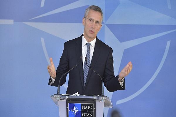 """""""الناتو"""" يدعم هجمات الولايات المتحدة الأمريكية وبريطانيا وفرنسا ضد سوريا"""
