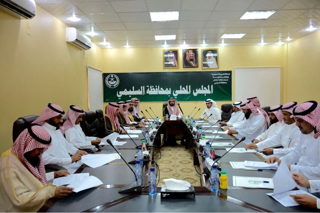 المجلس المحلي بالسليمي يعقد جلسته الأولى للعام الحالي