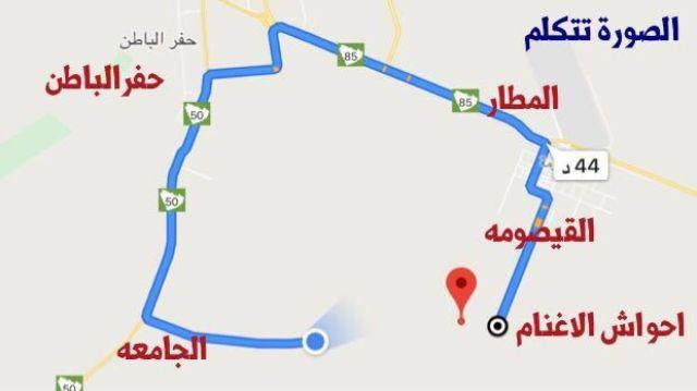 بالفيديو..أهالي القيصومة يطالبون باستكمال طريق القيصومة – الجامعة