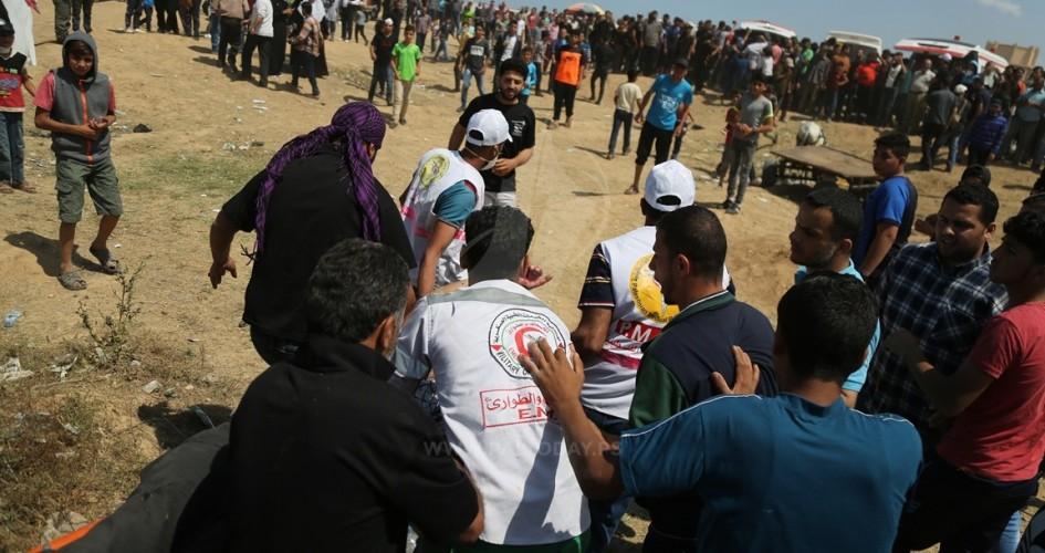 شهيدان وعشرات الإصابات في مليونية العودة بغزة