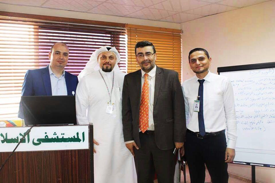 المستشفى الإسلامي في عمّان ينفذ برنامج تدريبي للاعتمادية الكندية