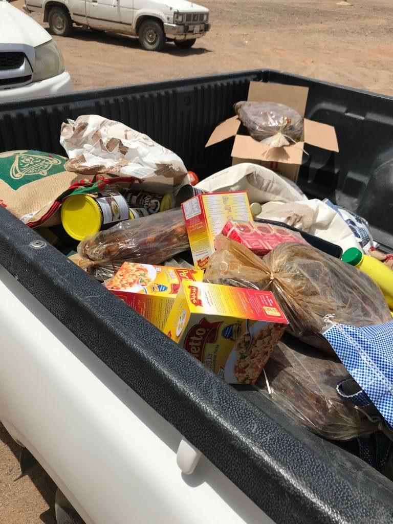 جمعية البر الخيرية بعماير المرير تقوم بتوزيع السلات الغذائية الرمضانية لمستفيديها