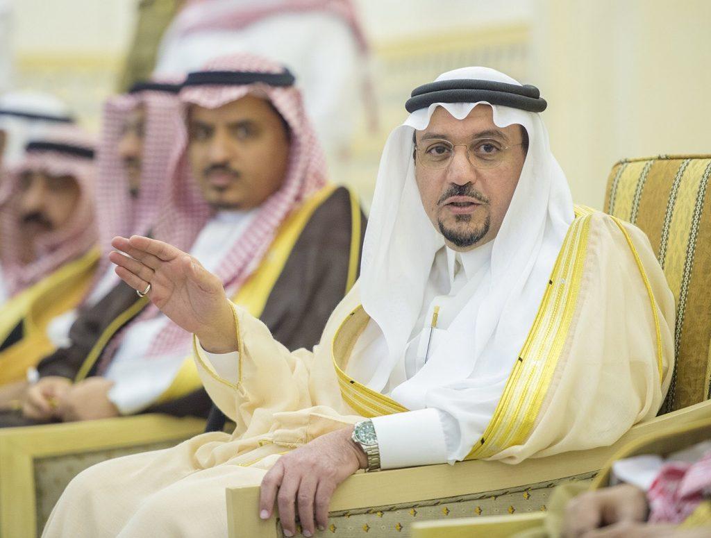 أمير منطقة القصيم يستقبل المهنئين بشهر رمضان