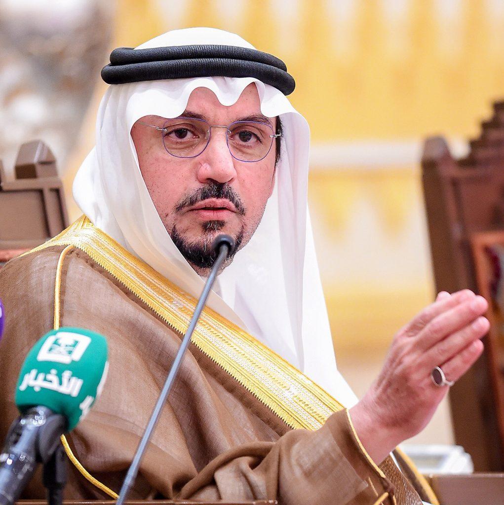 أمير منطقة القصيم يشدد على الالتزام بساعتين بين أذاني المغرب والعشاء برمضان