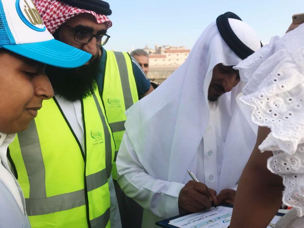 محافظ خميس مشيط يدشن برنامج رمضان أمان بمشاركة فريق الهلال