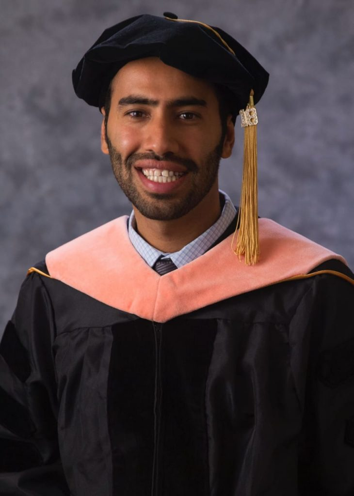 الدكتور أحمد عبدالوهاب ينال الدكتوراه الصحية من جامعة لوما ليندا