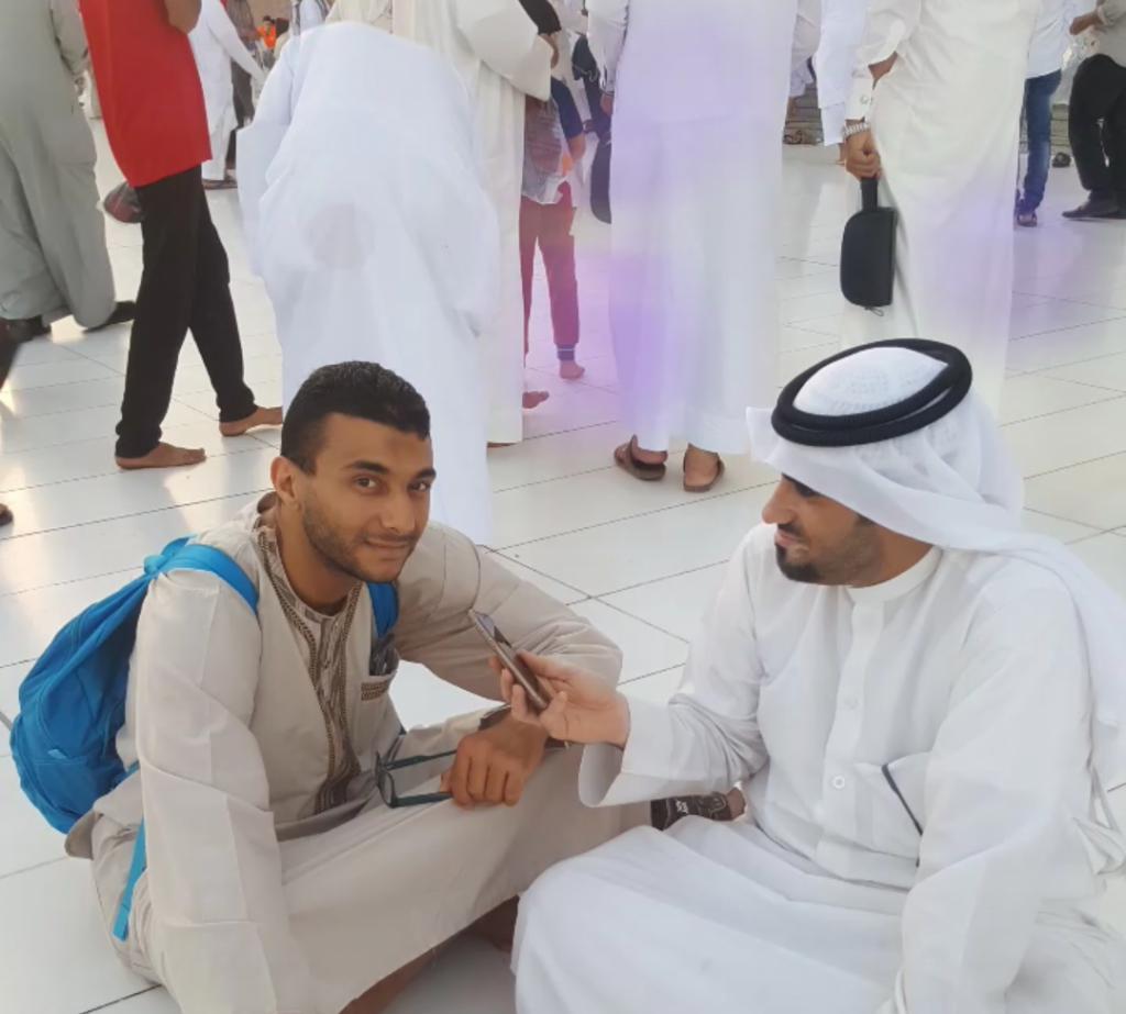 من ساحة الحرم النبوي الشريف.. أضواء الوطن تلتقي أحد مسلمي فرنسا