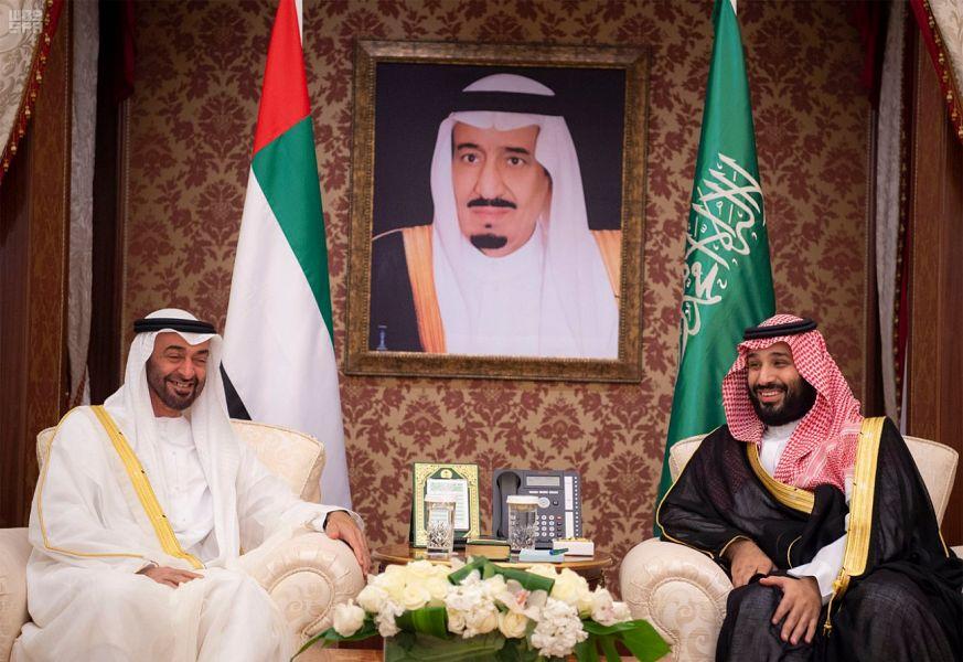 سمو ولي العهد وولي عهد أبو ظبي يرأسان الاجتماع الأول لمجلس التنسيق السعودي الإماراتي