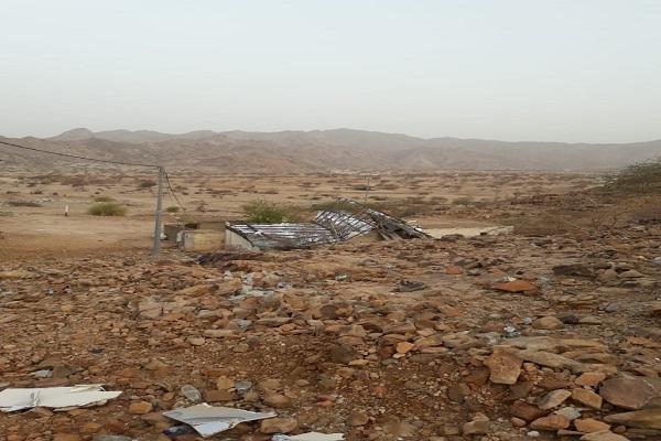 قرية نيات بلا كهرباء ولا اتصالات ومسجد القرية متوقف عن العمل