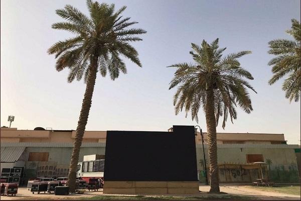 بلدية الخرج تجهز أربع مواقع بشاشات عملاقة لعرض مباريات كأس العالم