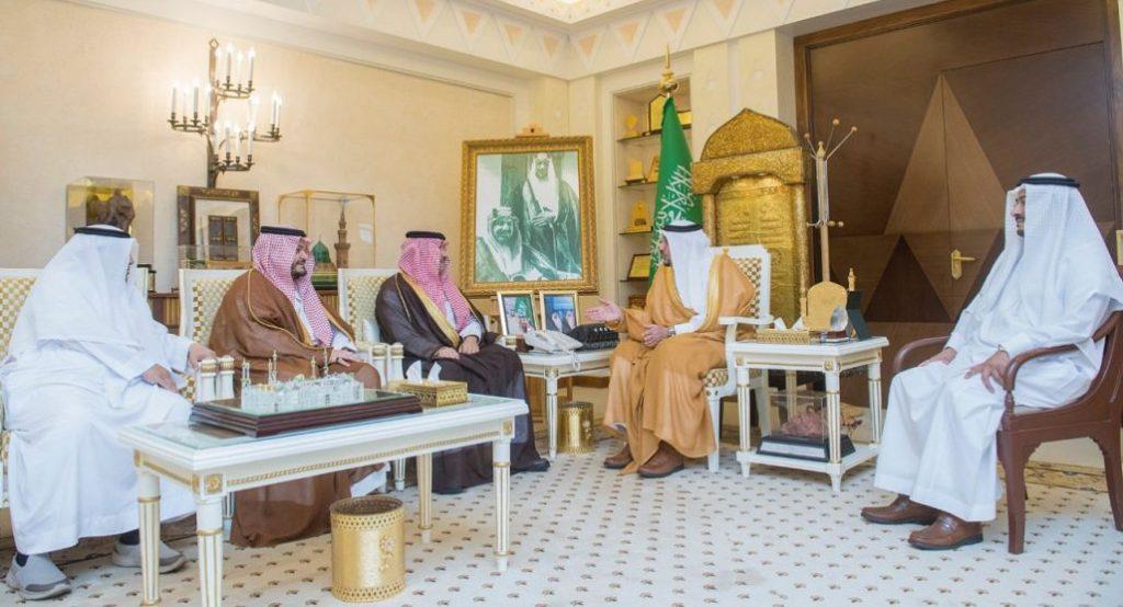 الأمير فيصل بن مشعل يستقبل مساعدي رئيس هيئة الطيران المدني للمطارات والمشاريع