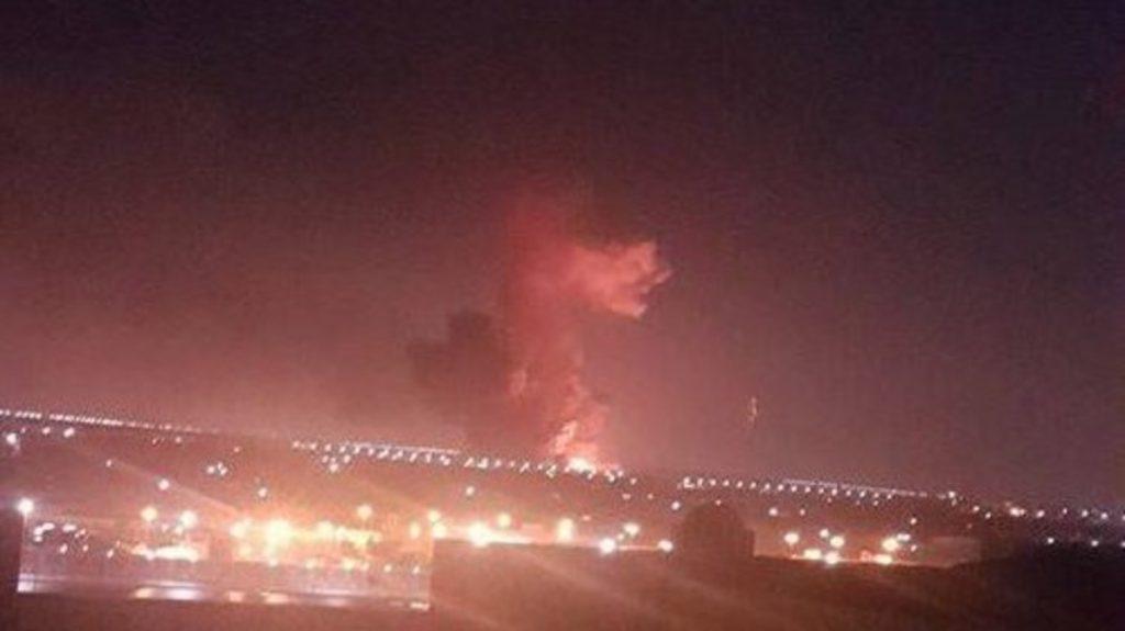 انفجار خزان وقود قرب مطار القاهرة