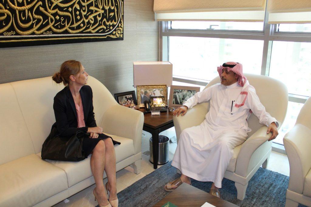 سفير المملكة لدى الأردن يستقبل سفيرة مملكة النرويج في عمّان