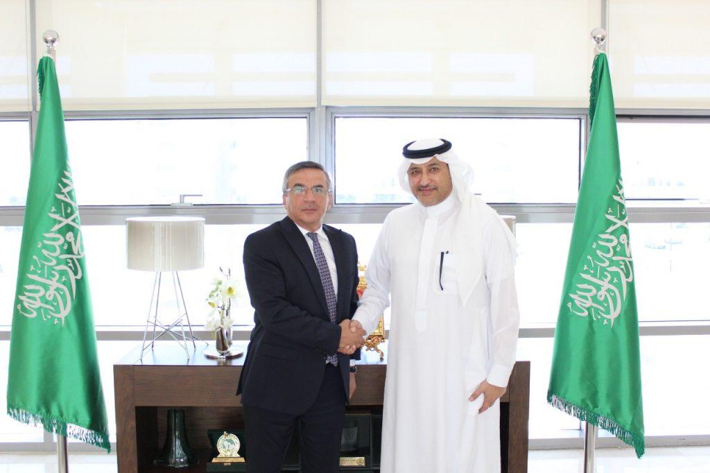 سفير المملكة لدى الأردن يستقبل سفير جمهورية أذربيجان المعين حديثا في عمّان