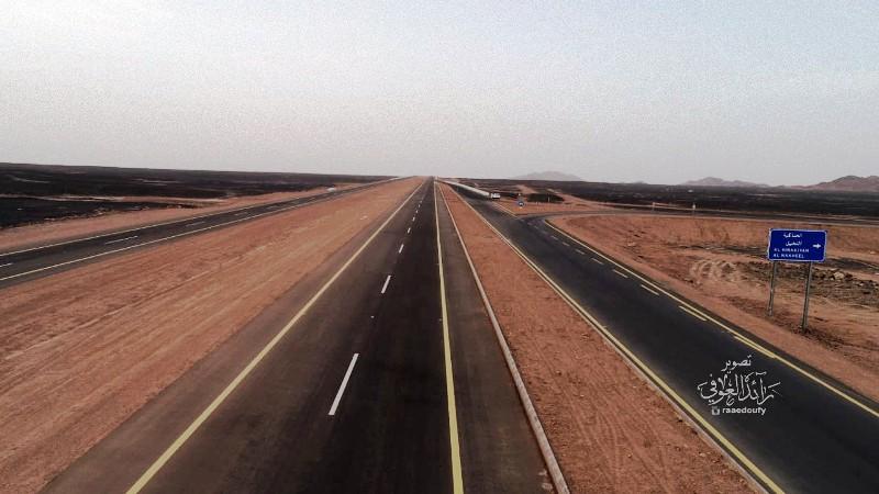 بالصور..أهالي مركز النخيل يطالبون وزارة النقل إنشاء جسور لمداخل ومخارج البلدة