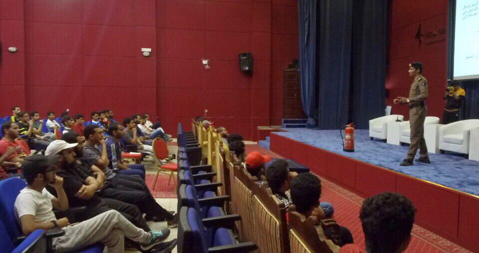 مدني جازان يقيم برنامج تدريبي لمتطوعي الدفاع المدني المشاركين في حج هذا العام ١٤٣٩هـ بغرفة جازان