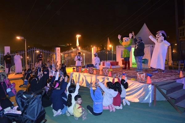 فرقة روح الترفيهية تواصل عروضها اليومية بمقر الفعاليات العائلية بالنماص